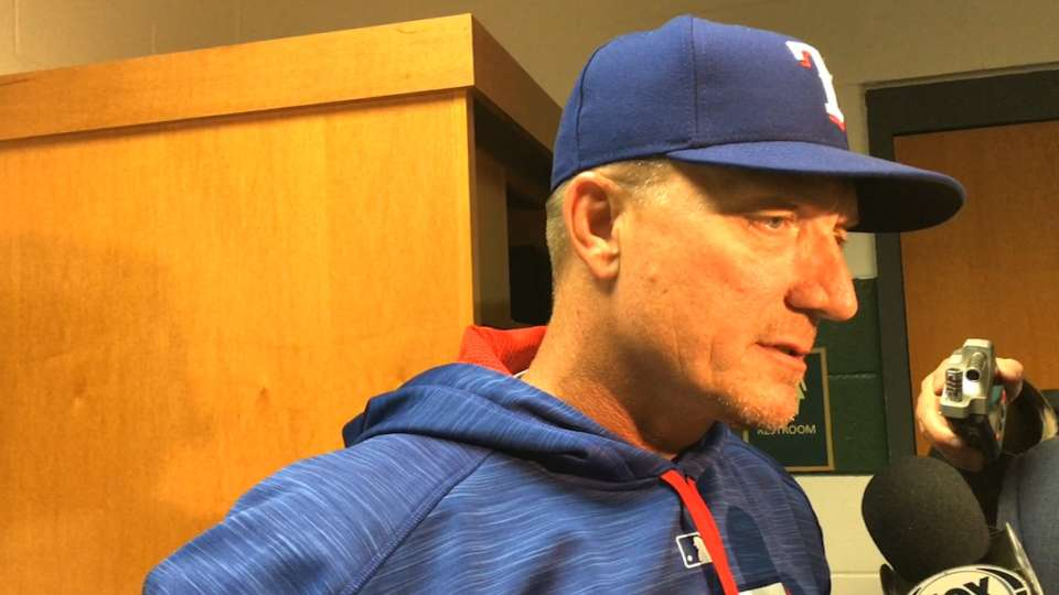 Banister on the offense in win