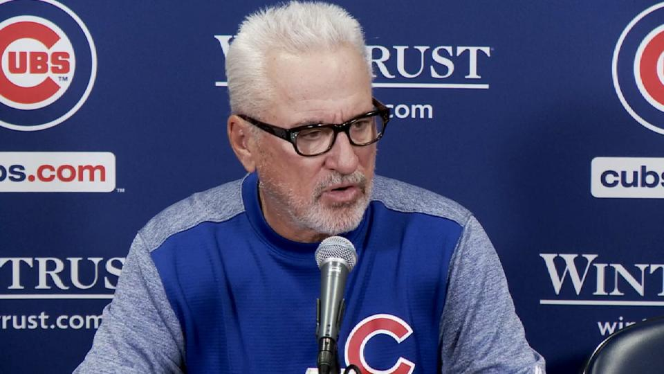 Maddon on win over Phillies