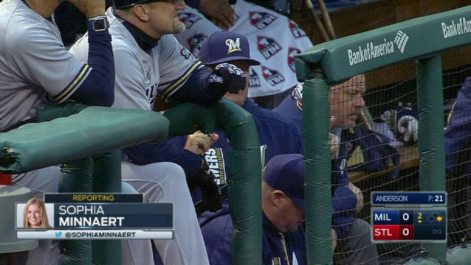 Brewers' booth on Guerra