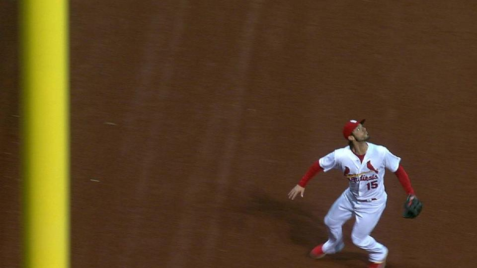 Grichuk's leaping grab