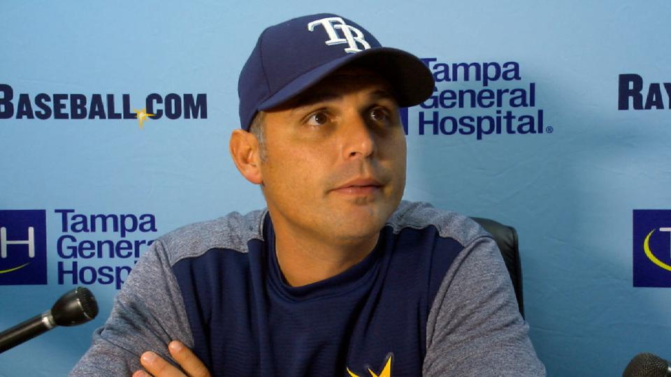Cash on 5-1 win over Marlins