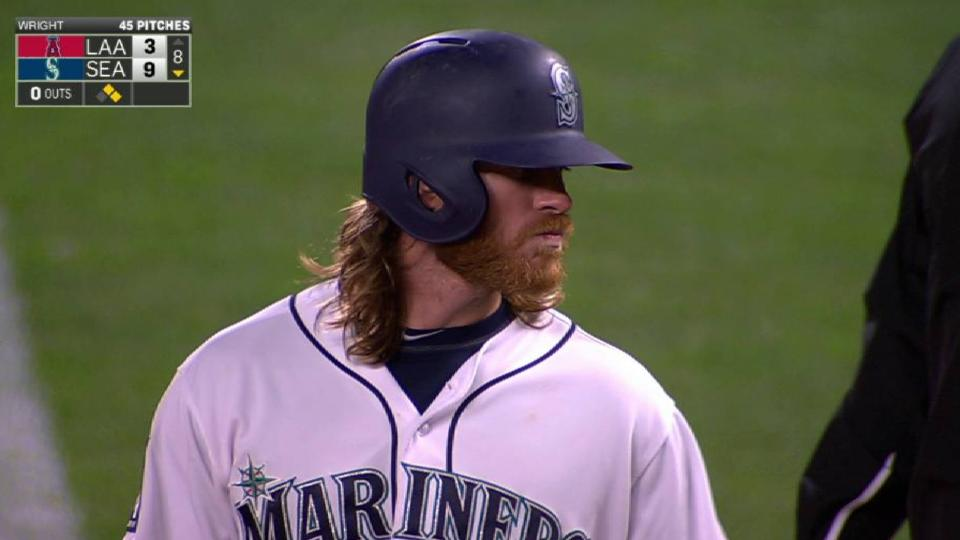 Gamel's RBI single to right