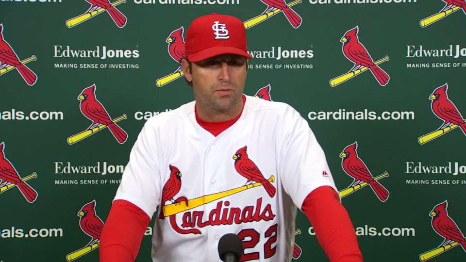 Matheny on injuries