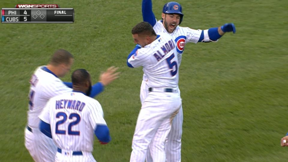 Radio Call: Cubs walk off in 13