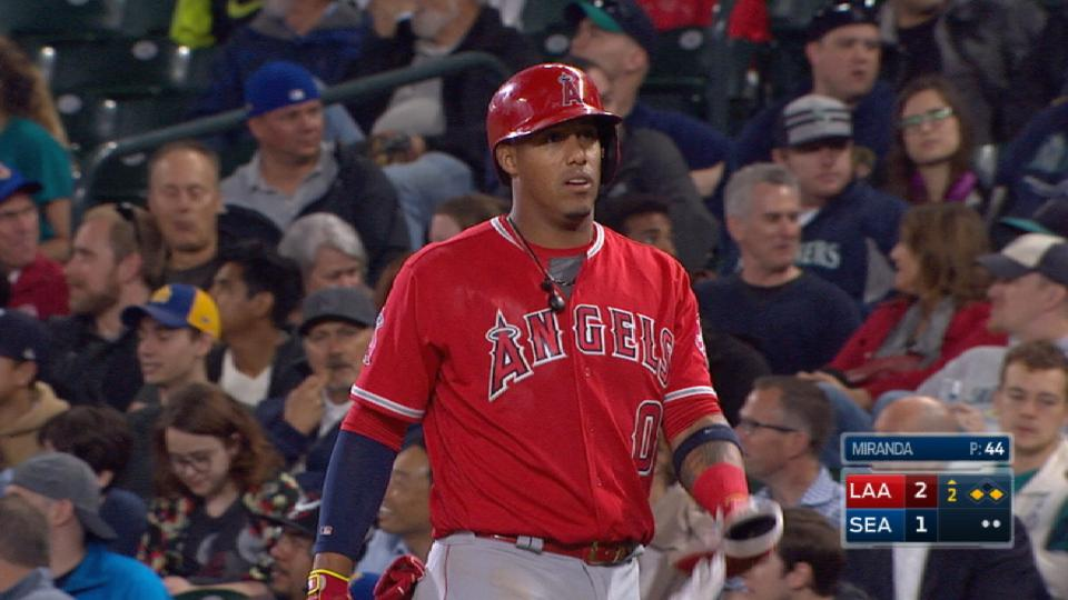 Escobar's four-hit night