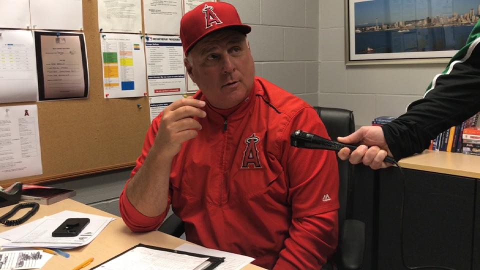 Scioscia on Meyer's performance
