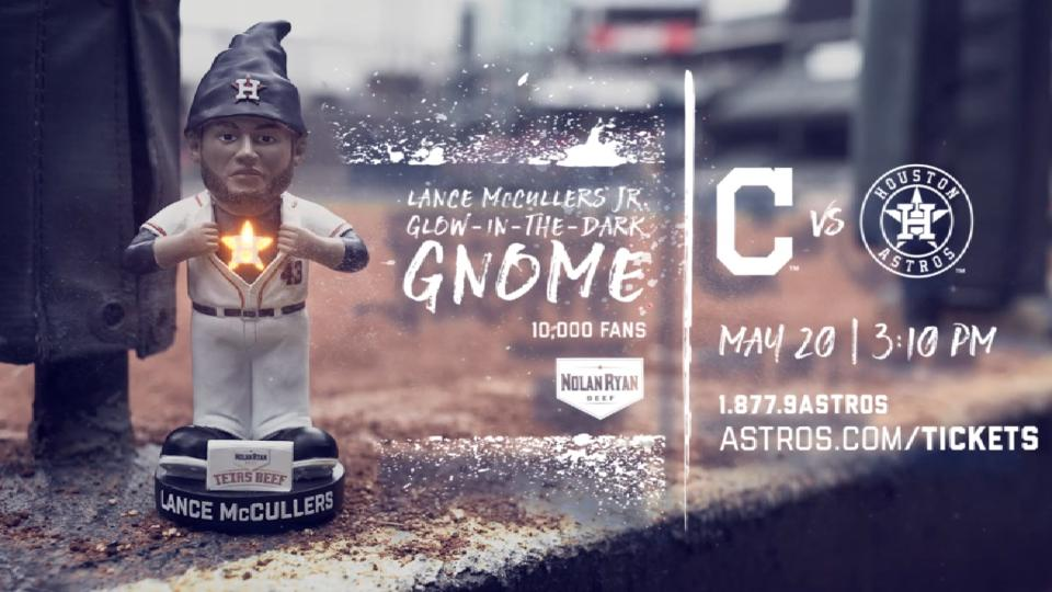McCullers glow-in-the-dark gnome