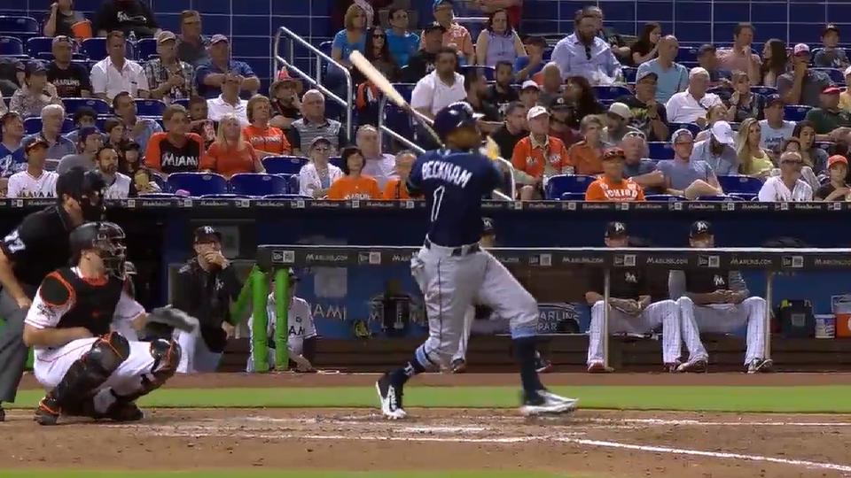 Tim Beckham's journey with Rays