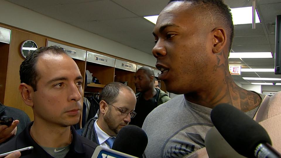 Chapman on return to Chicago