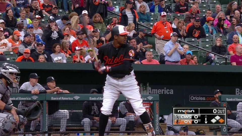 O's fans show support for Jones