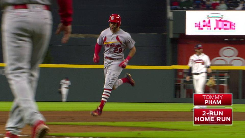 Pham's two-run home run