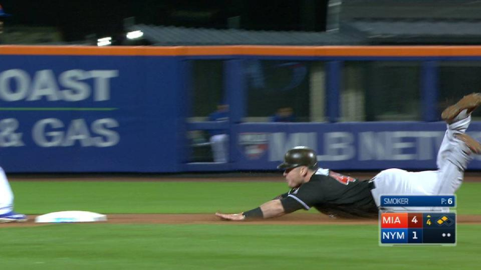 Bour's two-run double