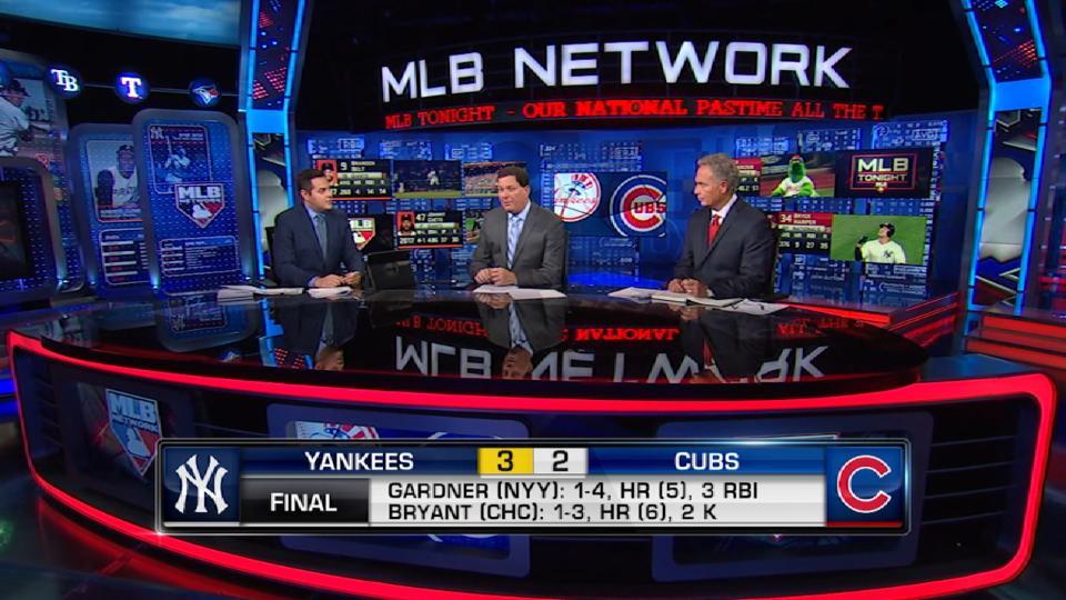 MLB Tonight on Yanks-Cubs series