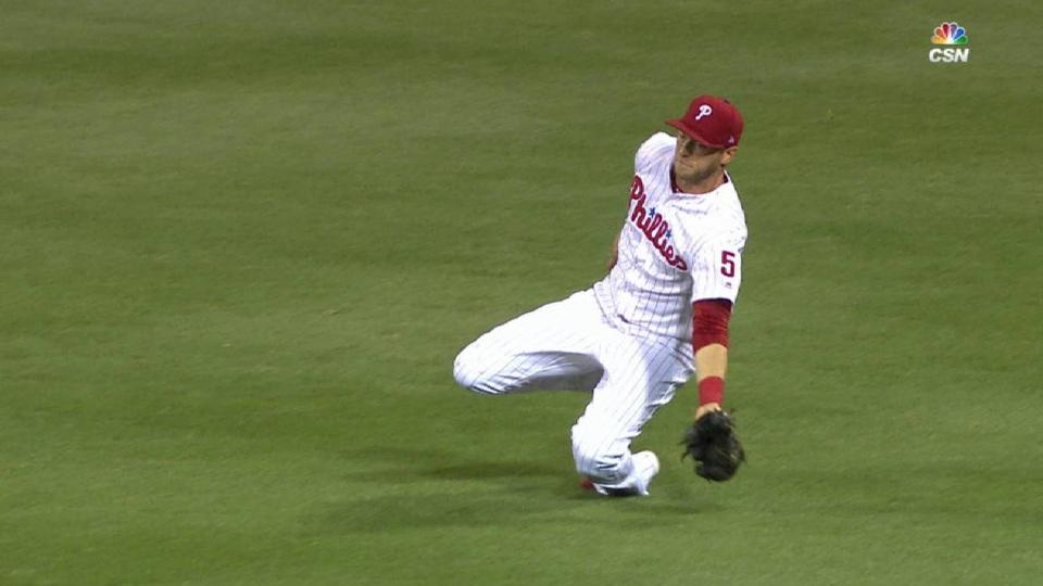 Saunders' sliding catch