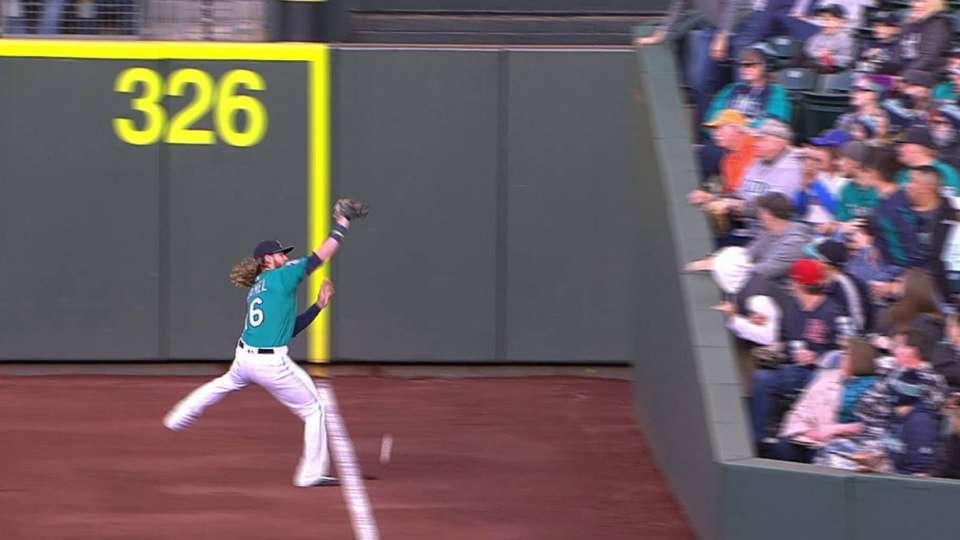 Andrus' RBI double is reviewed