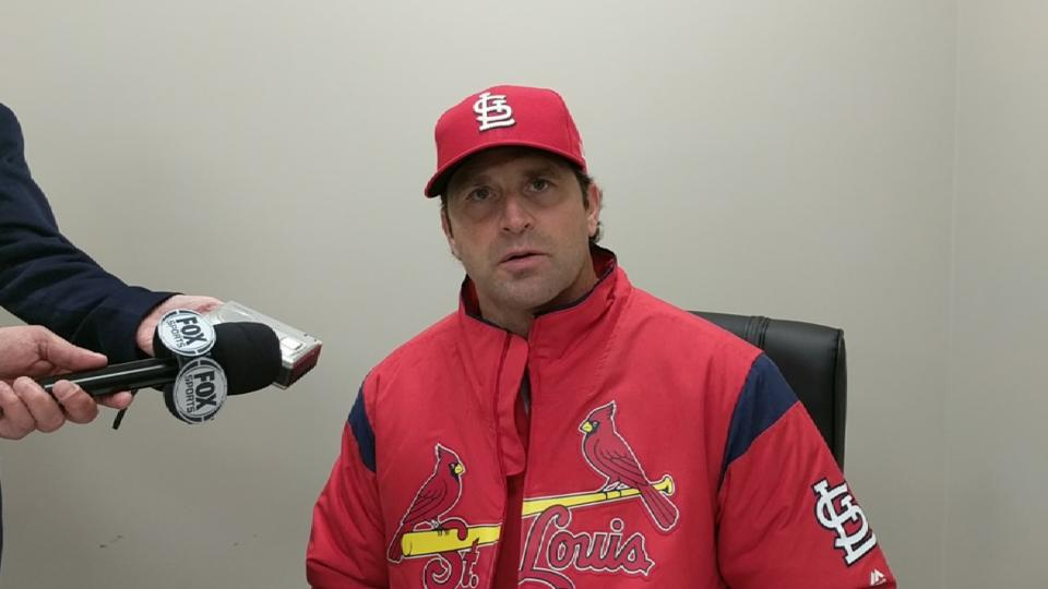 Matheny on win over Braves