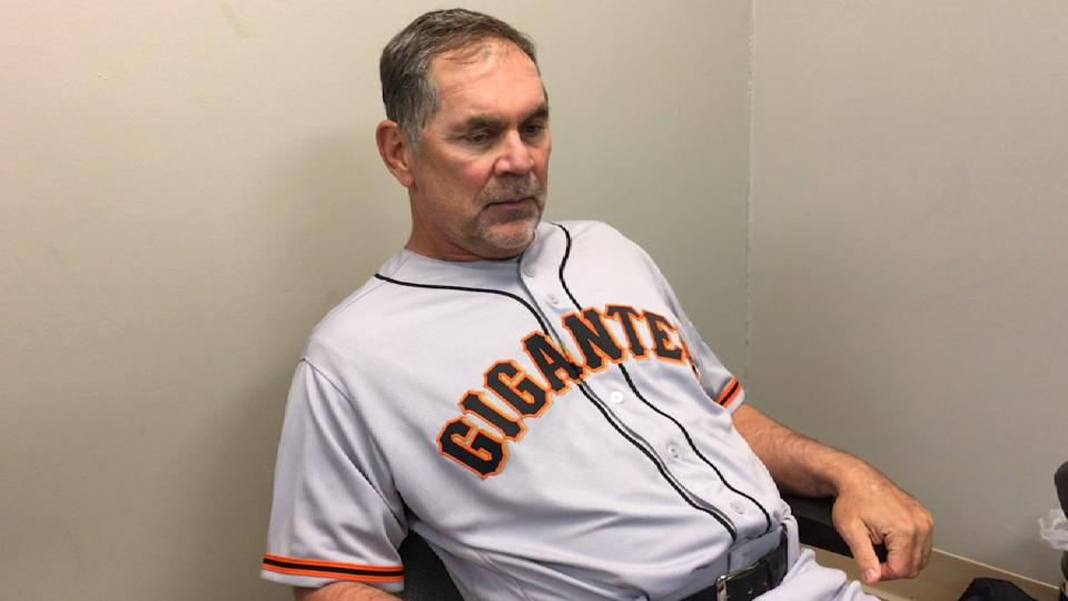 Bochy on Giants' 13-3 loss