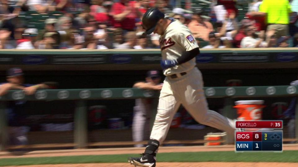 Grossman's solo homer to right