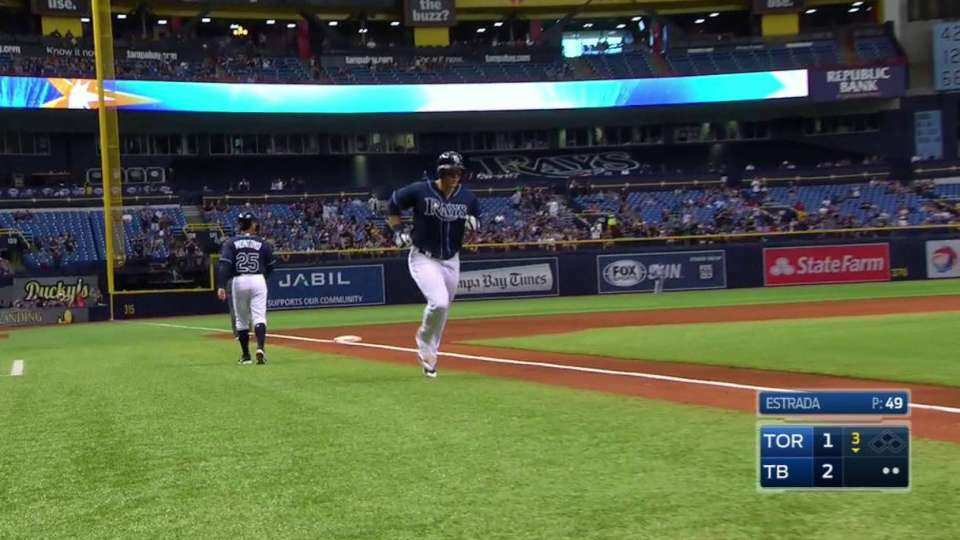 Morrison's two-run homer