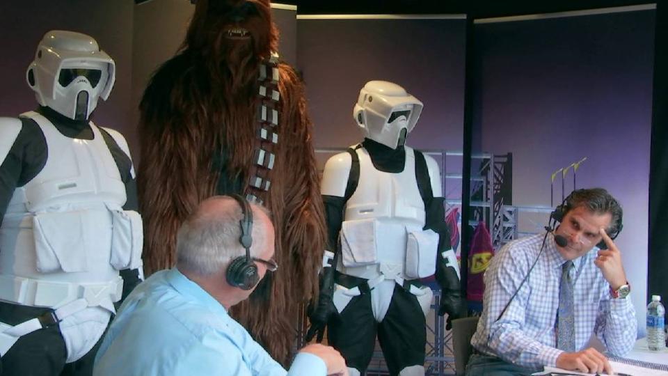 Star Wars Night at SunTrust Park