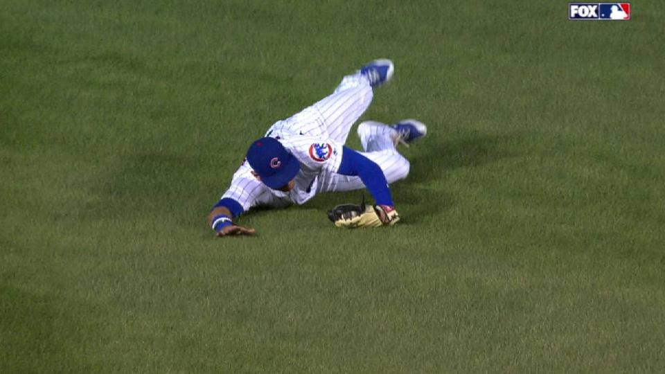 Almora Jr.'s diving catch