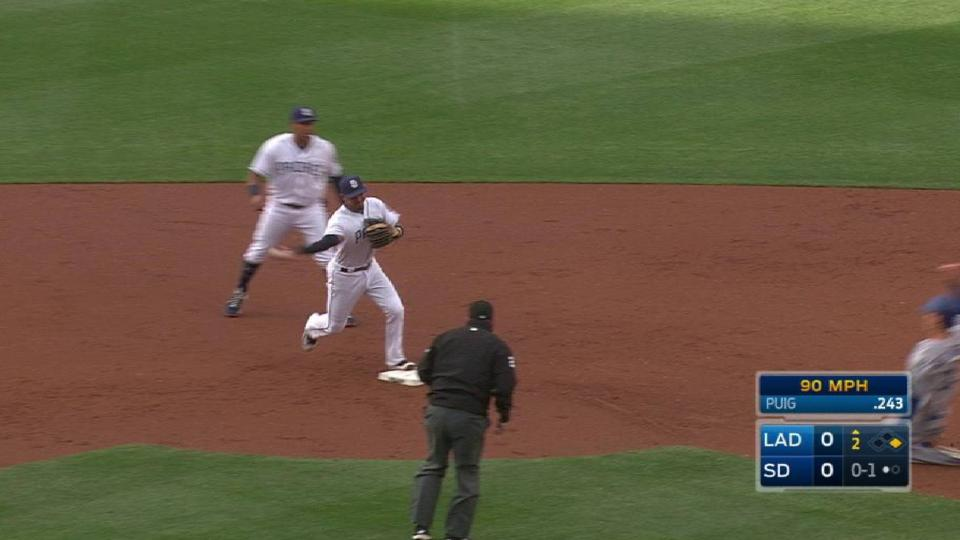 Richard induces a double play