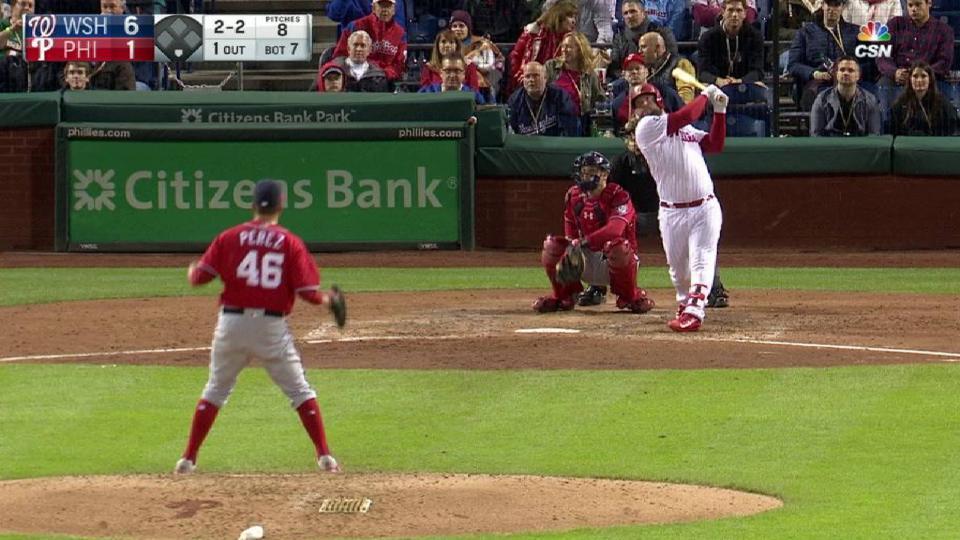 Rupp's solo home run