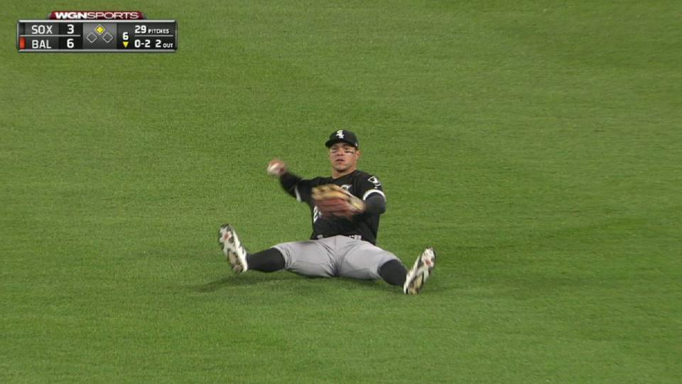 A. Garcia's sliding catch