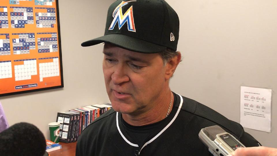Mattingly on loss to the Mets