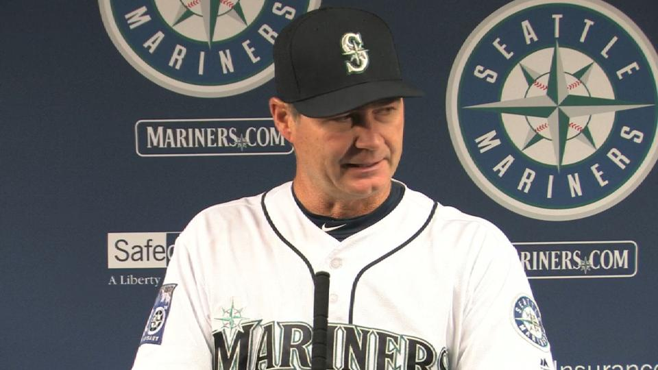 Servais on the Mariners' 8-2 win