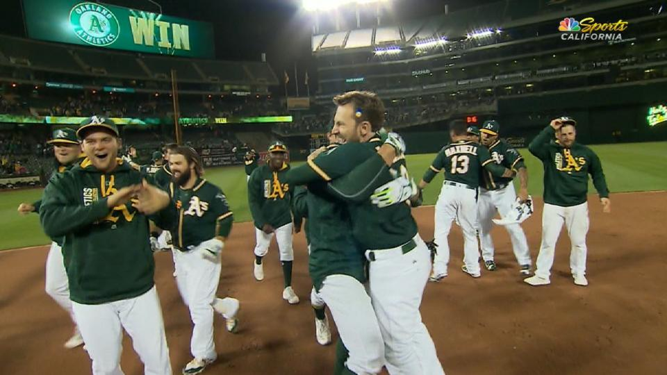 Must C: A's walk off in the 9th