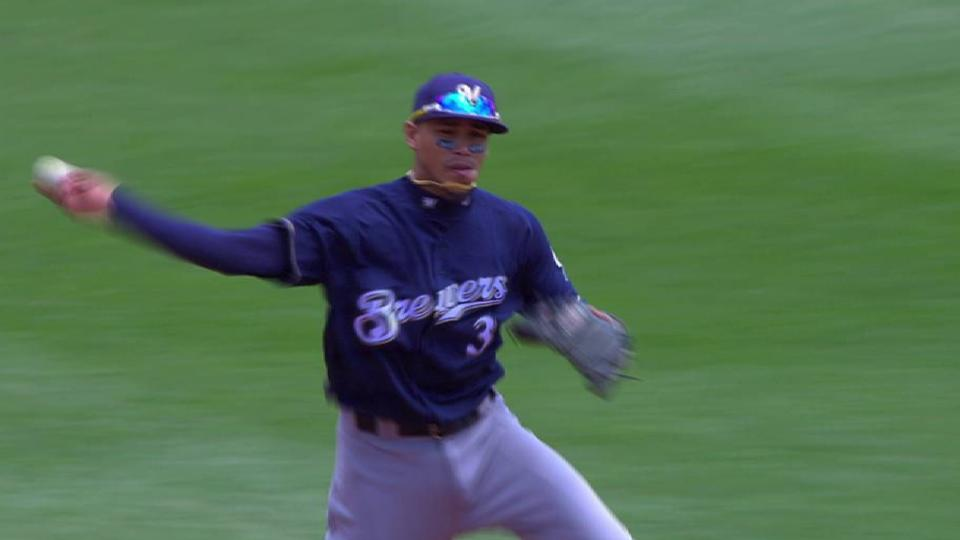 Arcia's stop up the middle