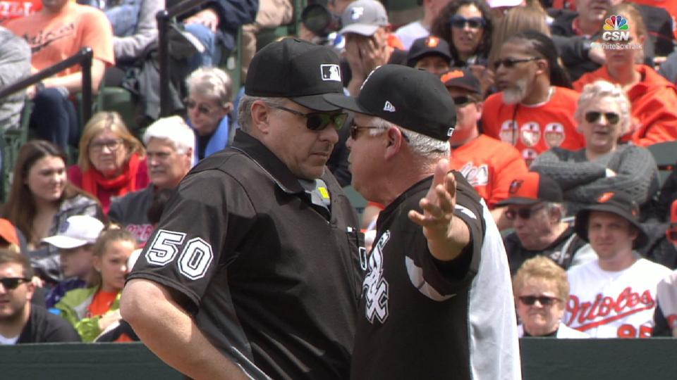 Renteria gets ejected from game