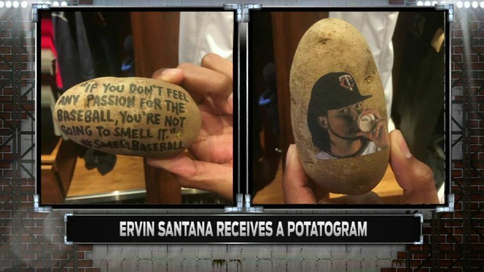 Santana's unusual gift