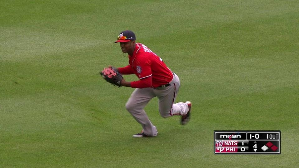 Taylor's diving catch in the 4th