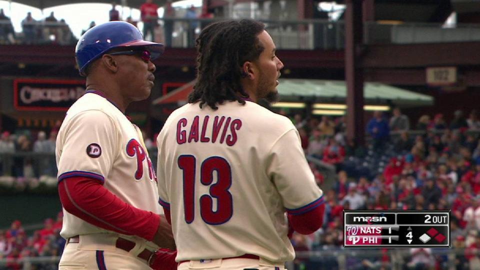 Murphy's relay gets Galvis