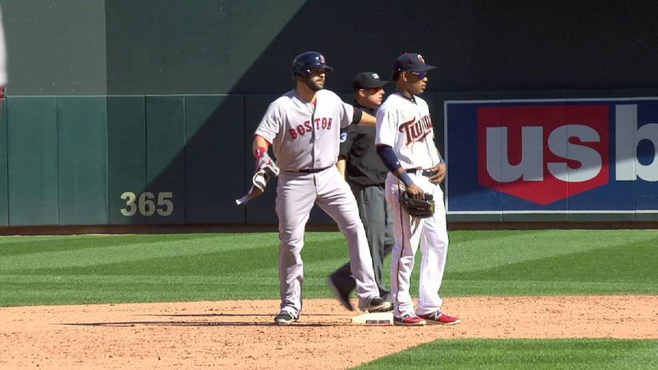 Moreland's two-run double