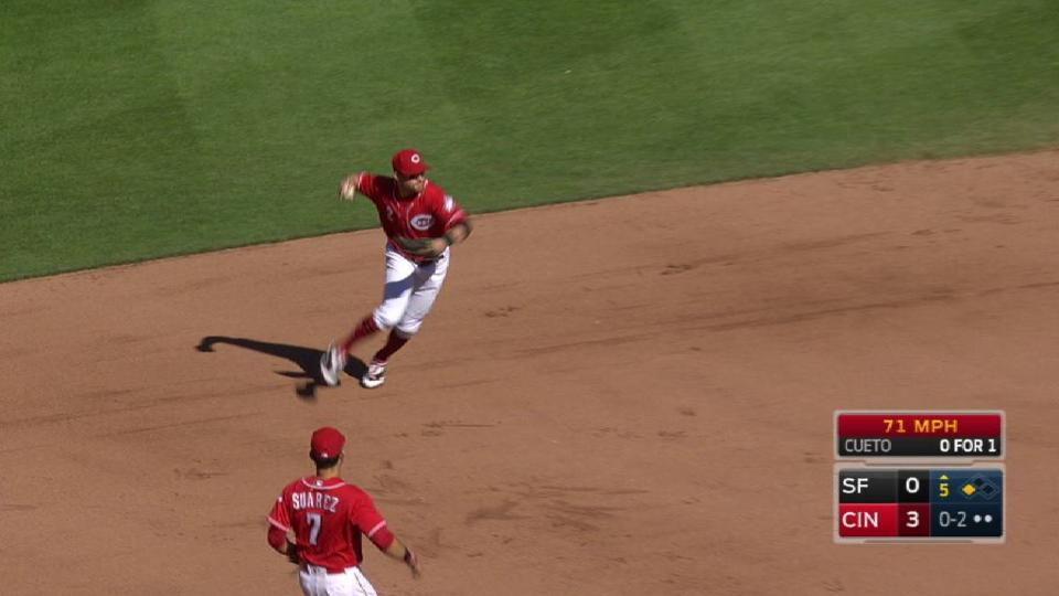 Cozart's athletic play