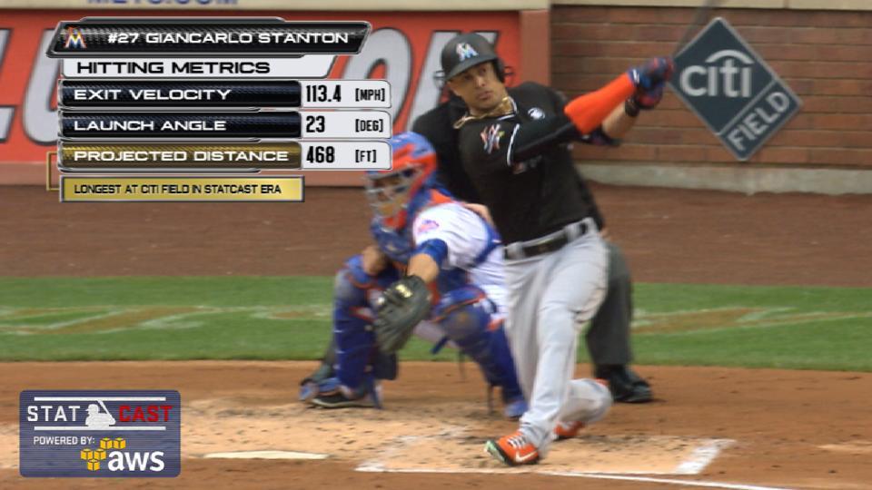 Statcast: Stanton's 468-ft. HR