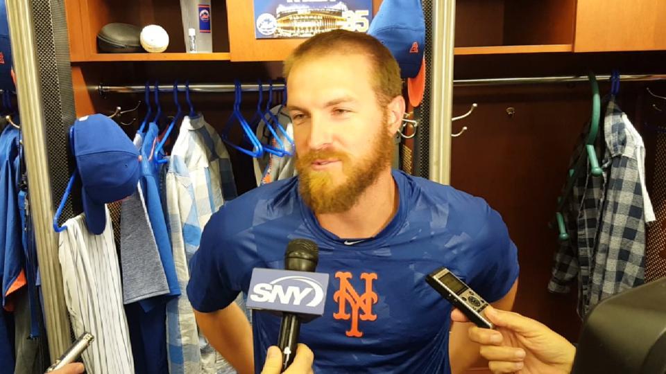 Wilk discusses his Mets debut