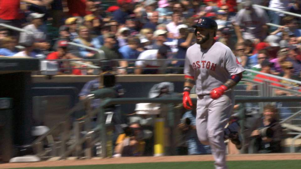 Leon belts two two-run homers