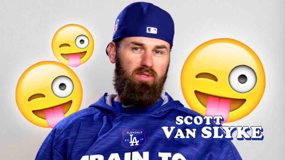 Dodgers Favorite Emojis