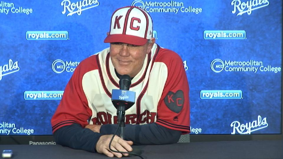Yost talks loss to Indians