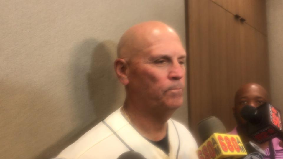 Snitker on loss to Cards