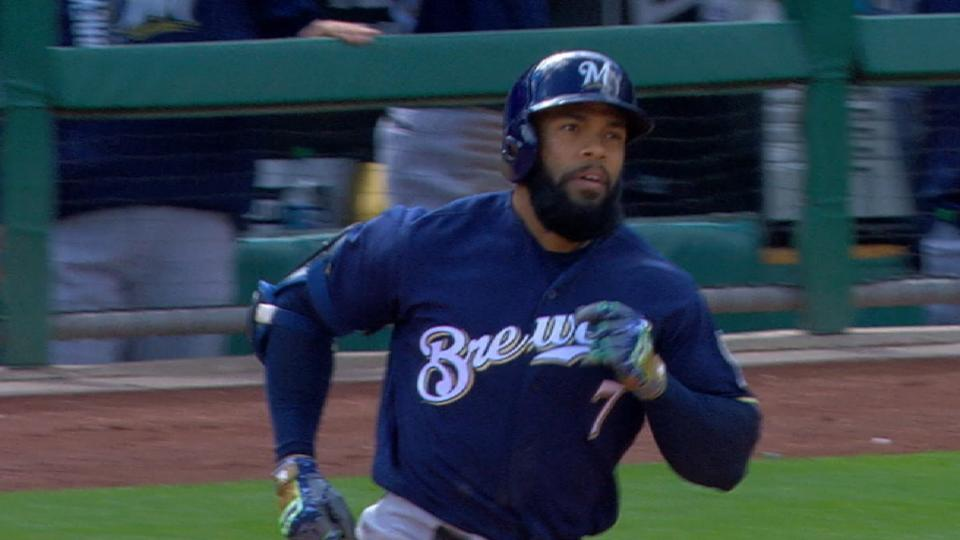 Thames goes yard in the 9th