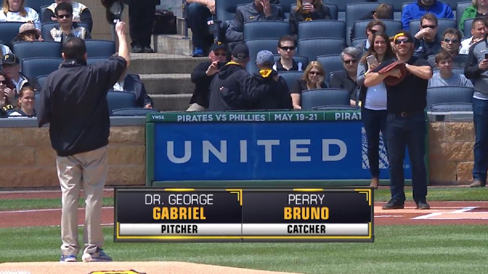 Pirates First Pitch: Gabriel
