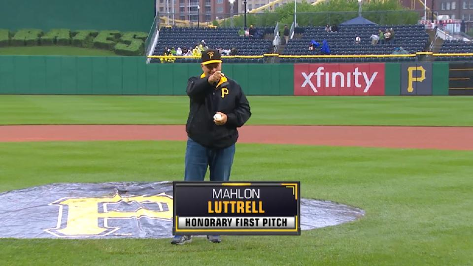 Pirates First Pitch: Luttrell