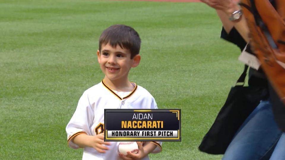Pirates First Pitch: Naccarati