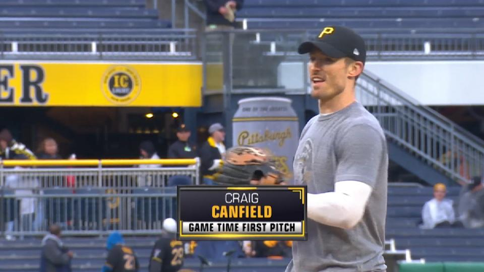 Pirates First Pitch: Canfield