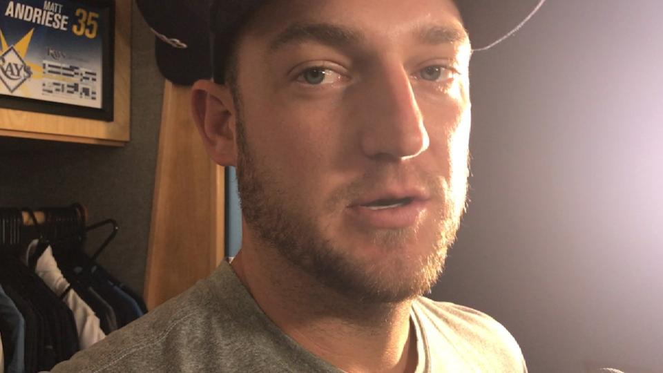Andriese on the Rays' rotation